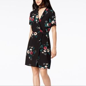 Glam by Glamorous for Macy's Floral Wrap Dress